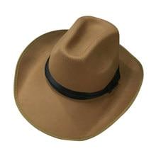 Corda Estilo Ocidental Caps Ajustáveis Para Homens Mulheres Chapéus De  Cowboy Cowgirl(China) 45faed9865b