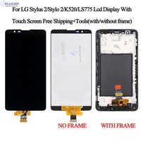 Brand New 1280x720 For LG Stylus 2 Stylus2 K520 LS775 Lcd Touch Screen Digitizer Assembly Repalcement 1pcs Free Shipping+Tools