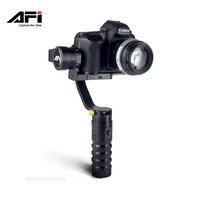 AFI VS-3SD PRO 3-Axis камеры амортизаторы электронный гироскоп Gimbal Ручной Стабилизатор для Canon sony A7 серии GH4 SLR