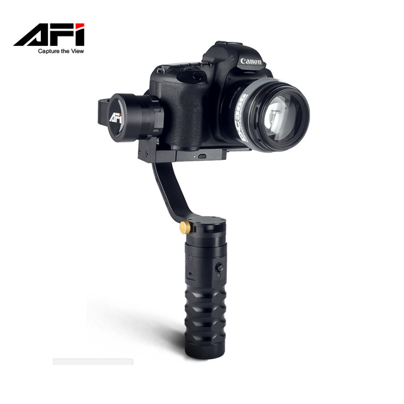 AFI VS-3SD PRO 3-Axis Cameras Shock Absorbers Electronic Gyroscope Gimbal Handheld Stabilizer For Canon Sony A7 Series GH4 SLR bohchip f16 f16 ic