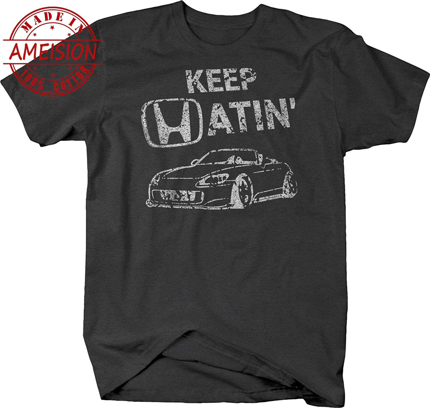 New Summer Hot Sale mens fashion 2019 Keep Hatin S2000 Car Lowered Fast JDM Racings T shirt Tee shirt in T Shirts from Men 39 s Clothing