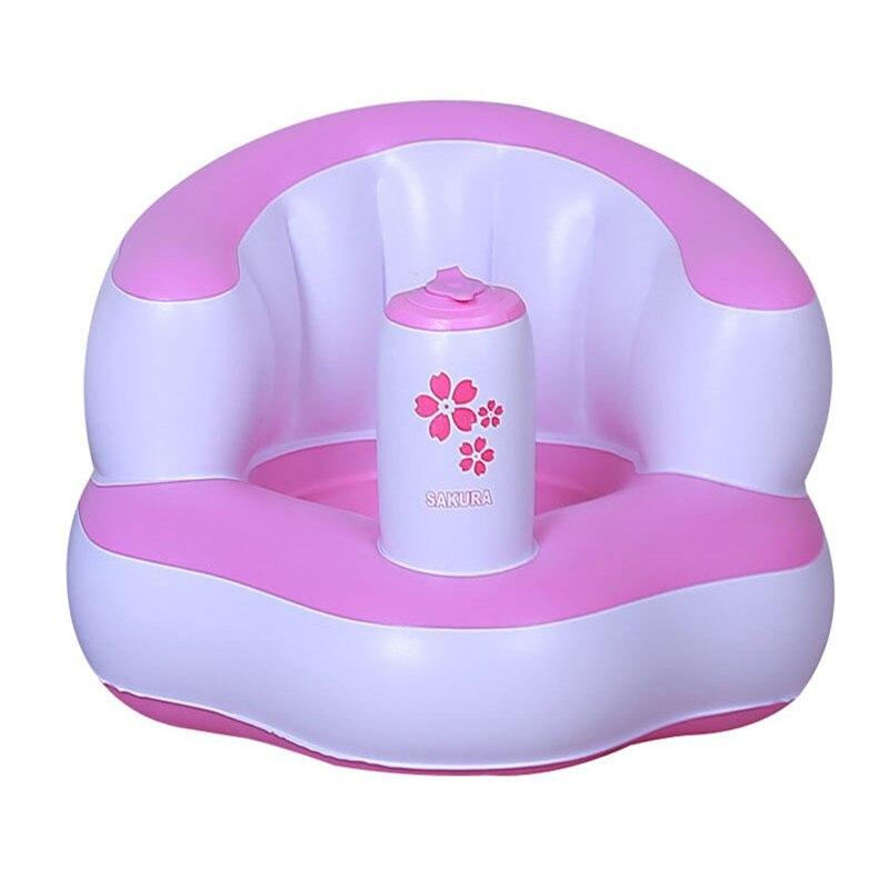 Bath Seat Child Sofa Chair Seat Inflatable Baby Kid