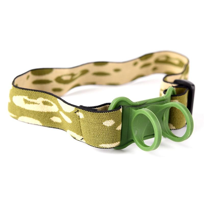 Headlamp Headband Head Belt Head Strap Mount Holder For 18650 Headlight Flashlight Lamp Torch