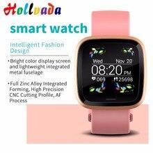 Модные часы Smart Watch крови Давление фитнес-трекер Smartwatch Для мужчин подключение через Bluetooth Smart Watch Sport Фитнес Для женщин Wearable Devices(носимое устройство