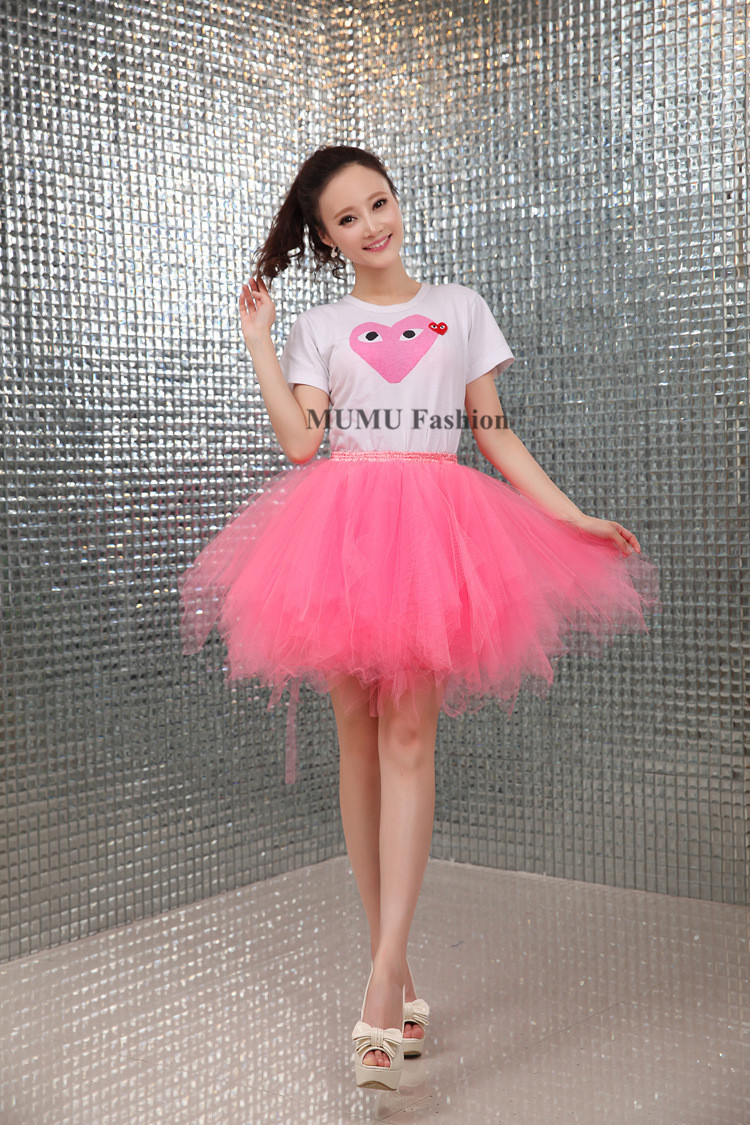 Irregular 2015 New Pink Ballet Tutu Skirt Adult Stage ...