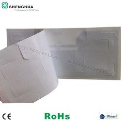 200 unidades/pacote de 92*40*0.3mm = 3.62*1.6*0.01 polegada Brisa RFID Tag SH-I0603