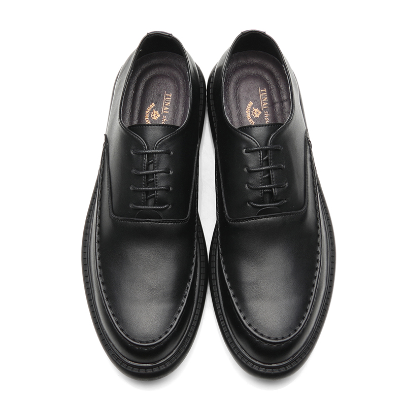 Summer Black Male Shoes Korean Version Of The Trend Of Men's Casual Business Shoes British Retro Society Small Shoes Men Summer цена