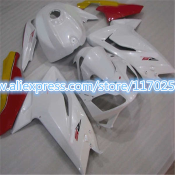 Complete Motorcycle Fairing Kit New For Aprilia  RS125 Year 2006 2007 2008 2009 2010 2011 Plastic Injection  Red White