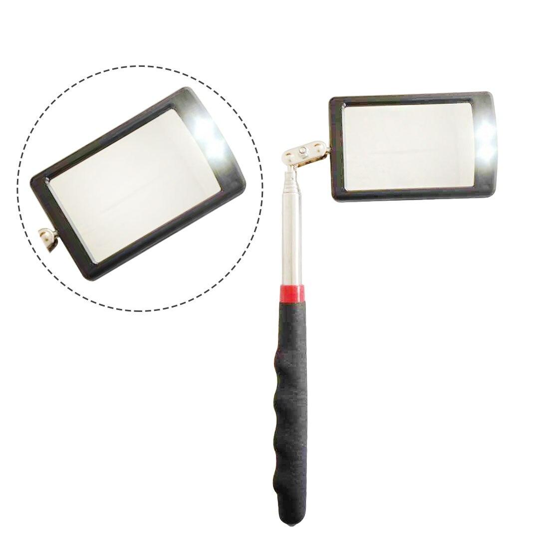 Car Angle View Pen Automotive Telescopic Detection Lens Telescoping Inspection Mirror Extending Flexible Adjustable
