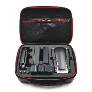 Image 2 - Mavic Air Waterproof Bag Handbag Portable Case PU Carbon Skin Storage Box Shoulder Bag For DJI MAVIC AIR