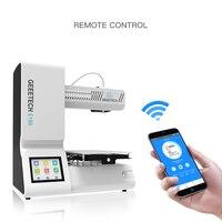 Geeetech с открытым исходным кодом E180 3D принтеры Wi Fi Подключение и полный Цвет Сенсорный экран высокой точности 2018 Лидер продаж 3D принтеры s