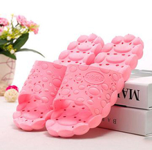 Cool summer home slippers couples massage slip bathroom slippers men and women home wood bath slippers/Thick durable/tb209014