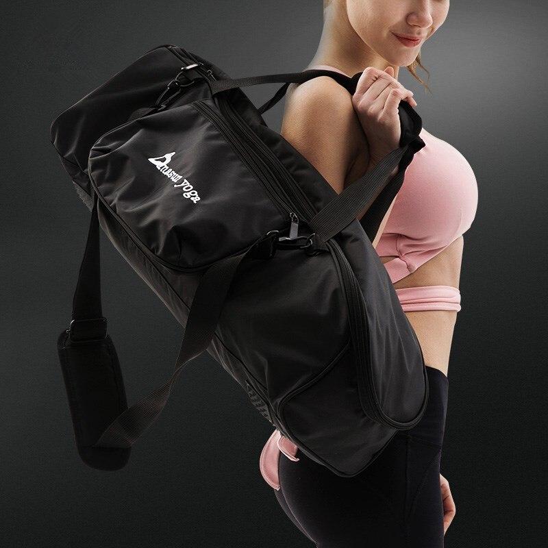 все цены на Yoga Bag Waterproof High-capacity Yoga Mat Bag 65*20*20 cm Yoga Pilates Fitness Sports Gym Basketball Multi-function Backpack