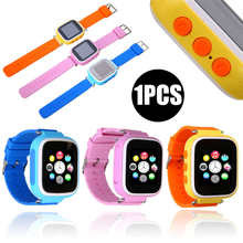 Fashion Colorful Kids Children Smart Watch GPS SOS Phone Call Location Tracker Bracelet Android 3.0 above and IOS 6.0 above(China)