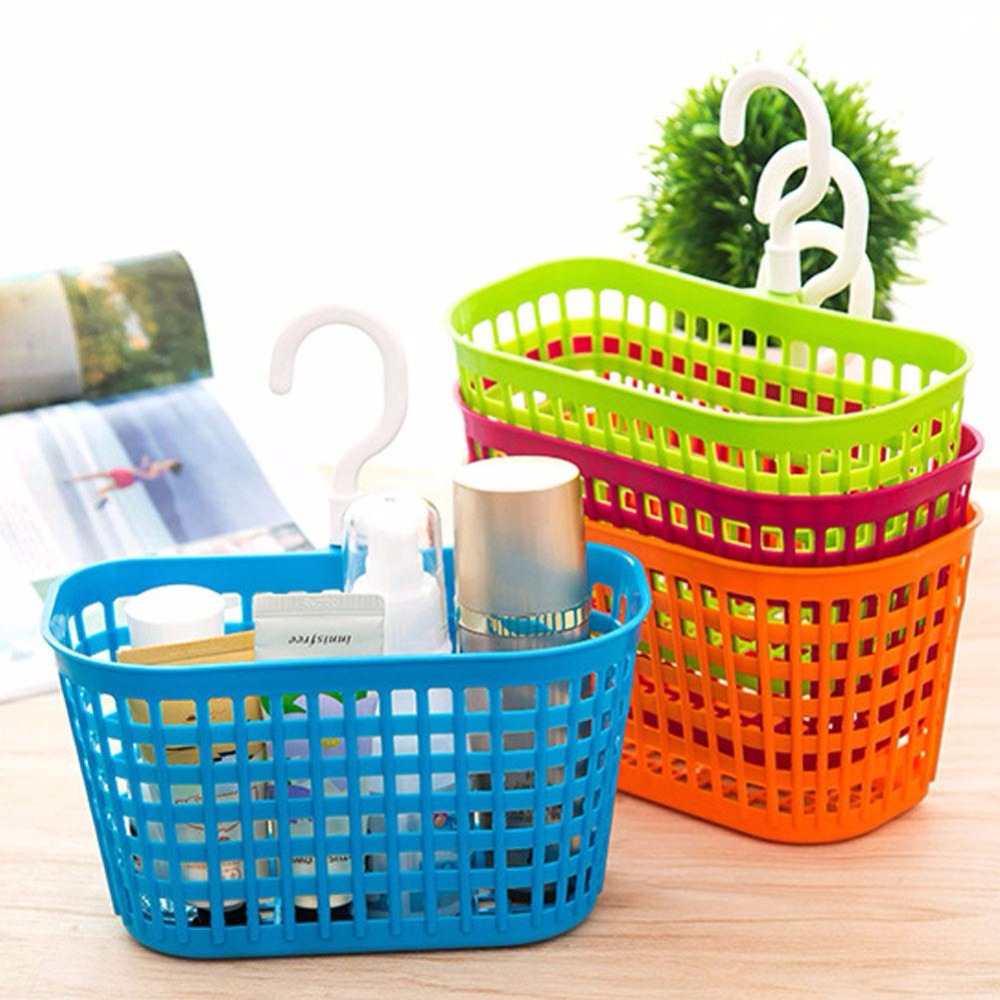Hanging Plastic Storage Basket Sunderies Food Seasoning Kitchen Container  Case Shampoo Cosmetic Clothing Organizer Bathroom Tool In Storage Baskets  From ...