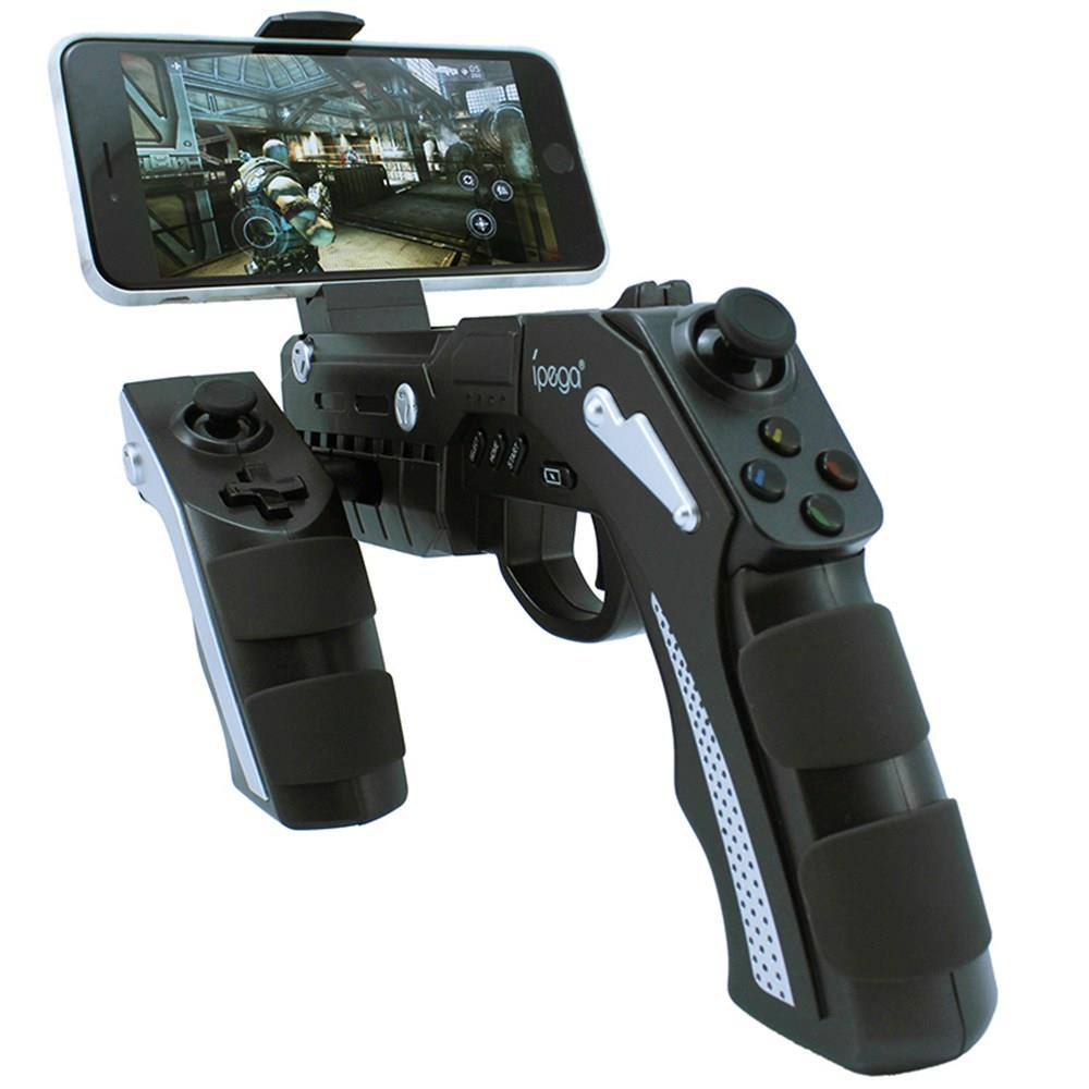 Game Gamepad Phantom ShoX Blaster Wireless Bluetooth 3.0 Game Controller Gun Design for Android VR PC все цены