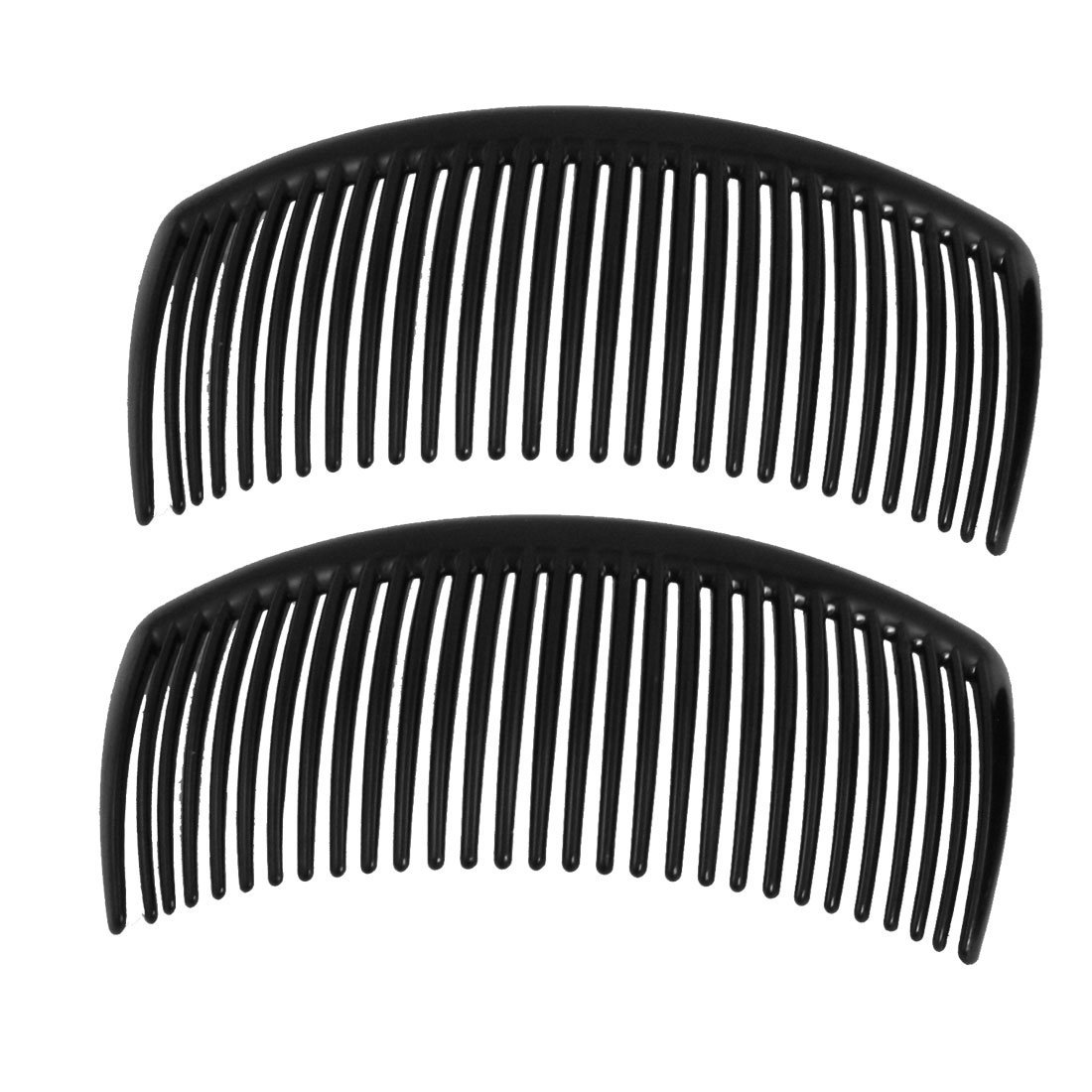 2Pcs 10.5X5Cm Natural Amber Ox Horn Comb Of Hair No Static Health Care Hair Brush Hairdressing Comb For Hair