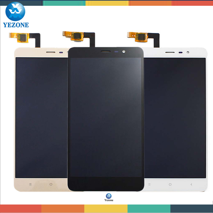 ФОТО  LCD Screen Display+Touch Digitizer without Frame Xiaomi Redmi Note 3 Hongmi 55 inch Gold replacement screen+Tools