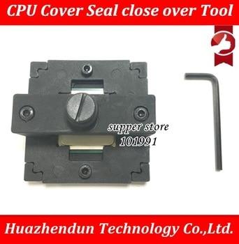 Free DHL EMS 100PCS CPU lid Close Crimpers CPU head cover recover lid restorer Back cover for 115x cap close collector close