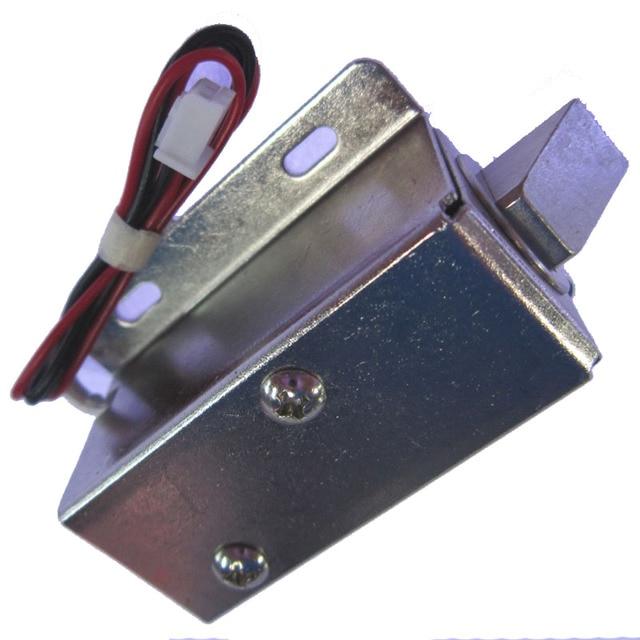 Cabinet Mini Electric Plug Lock 12V  Bolt Drawer Lock  Access control small Lock