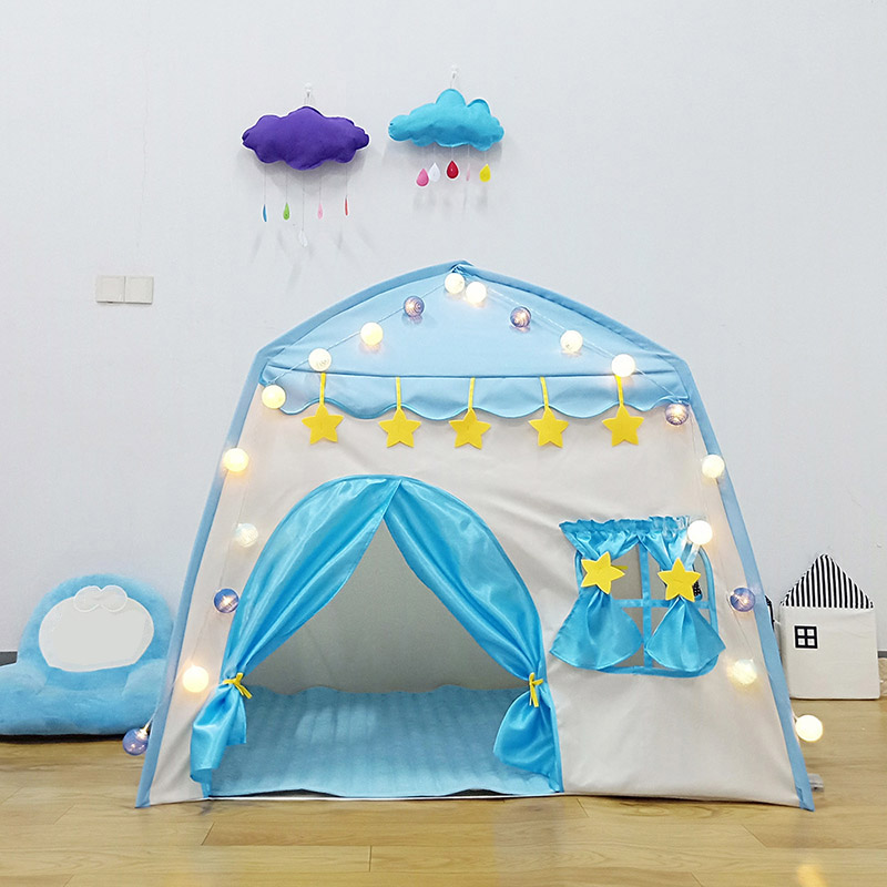 Kids Indoor And Outdoor Castle Tent Baby Princess Game House Boy Girl Oversized House Folding Game House For Kids Gifts