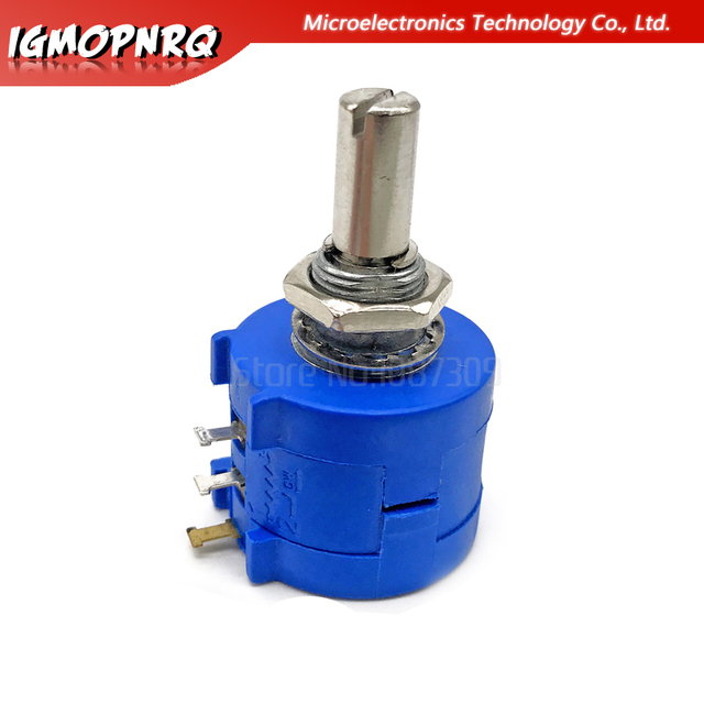 1PCS 3590S series potentiometer 500 1K 2K 5K 10K 20K 50K 100K ohm 3590S-2-103L 3590S 101 102 103 104 201 202 203 501 502 503 2