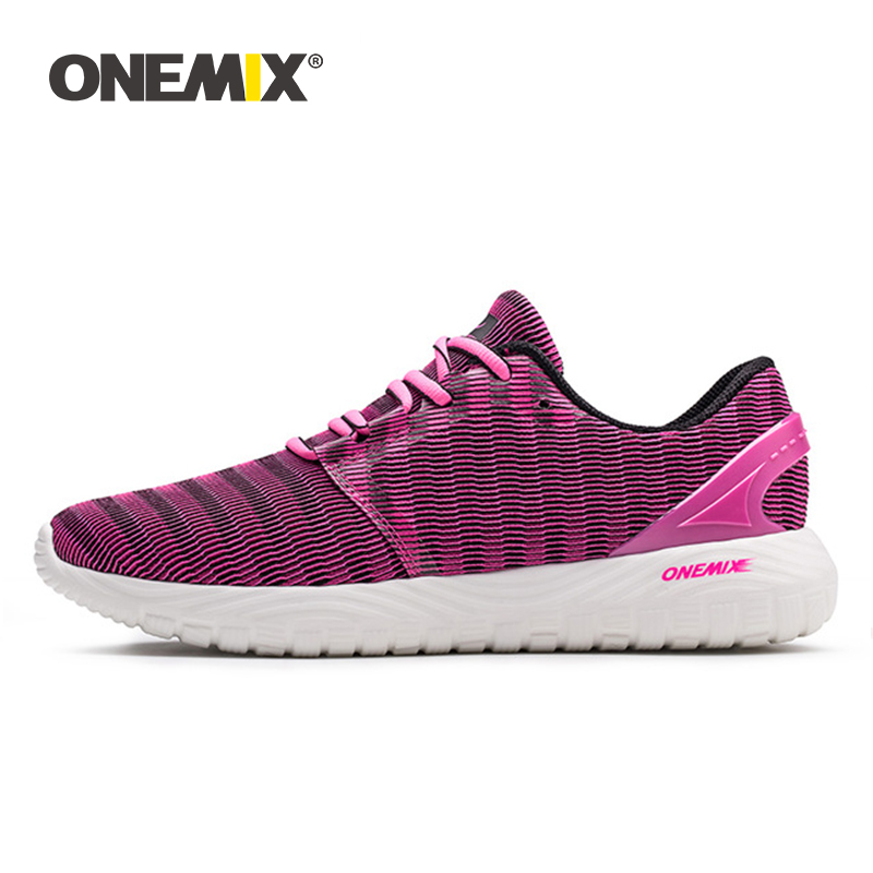 ONEMIX Women Sneakers Cool Summer Deodorant Insole Light Soft Running Shoes Female Sneakers For Outdoor Running Walking Jogging