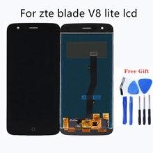 "5.0 ""zteブレードV8 lite lcdディスプレイタッチスクリーンデジタイザガラスアセンブリの交換zteブレードV8 lite液晶修理キット"