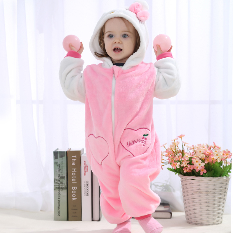 Baby-rompers-hello-kitty-girls-clothes-new-born-baby-Cartoon-pajamas-warm-winter-animal-Pajamas-roupas-de-bebe-recem-nascido-YJY-4