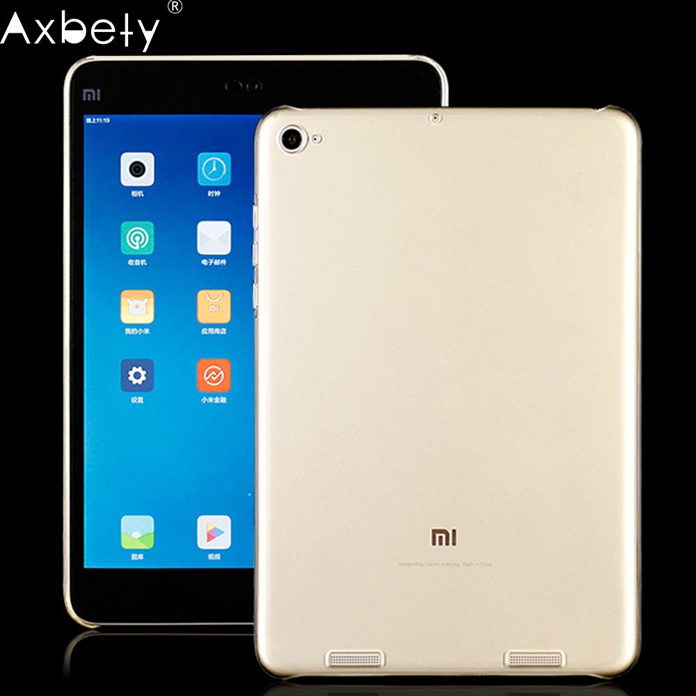 AXBETY fundas TPU Clear Case For xiaomi mi pad 2 3 Case Silicon Soft TPU Transparent Protect Cover For xiomi mi Pad 1 2 3 Cover