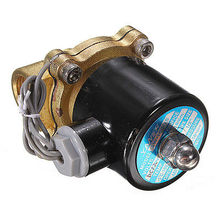 цена на Solenoid Valve 1/2'' NPT Inlet Electric Solenoid Water Air Valve Gas NPT Brass DC 12V