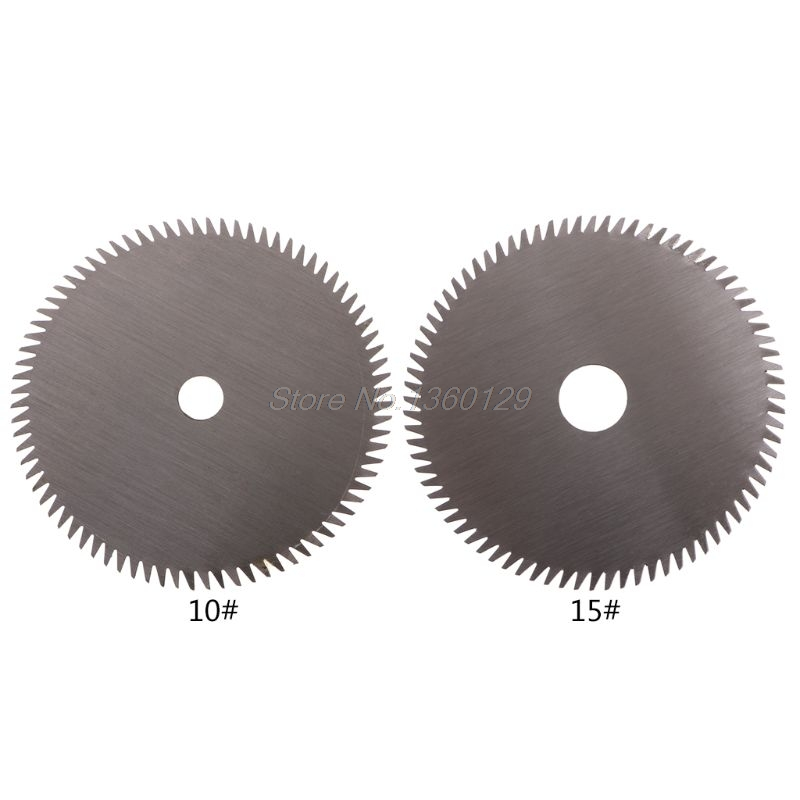 80T Circular HSS Saw Blade Tipped Cutting Disc For Acrylic Plastic 10mm 15mm  MAR22 Wholesale&DropShip
