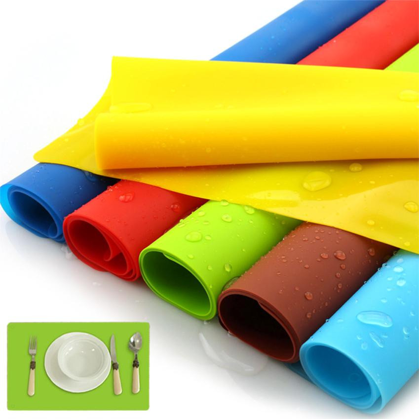 40x30cm Silicone Better Heat Cooking Liner Pad Mat