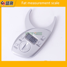 Wholesale prices High Quality 1pc Body Fat Caliper Monitors Electronic Digital body fat analyzer + Tape Measure Pack Skin Muscle Tester