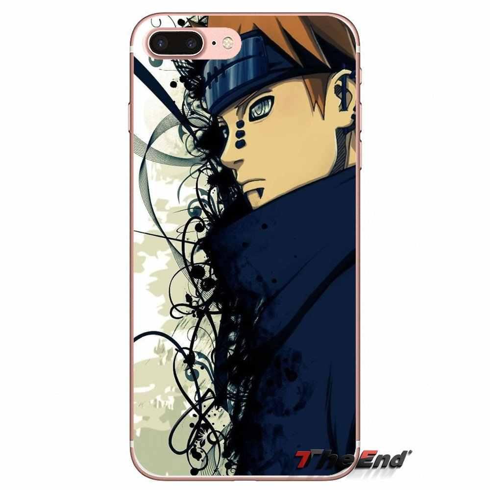 Наруто Боль сотовый Чехол для телефона для samsung Galaxy S2 S3 S4 S5 мини S6 S7 край S8 S9 Plus Note 2 3 4 5 8 Coque Fundas