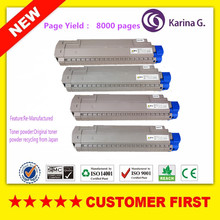 1Set Compatible for OKI C830 C810 Toner Cartridge for Okidata C810 C830 etc.