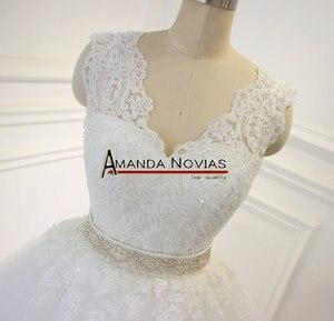 Image 3 - Stunning High Quality Wedding Dress 2019 Amanda Novias 100% Actual Photos