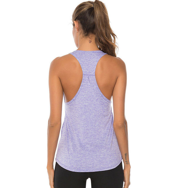 2020 Zomer Womens Sport Gym Racer Back Running Vest Fitness Jogging Yoga Tank Top 10 Kleuren Vrouwelijke Yoga Shirts Outfits s-XXL