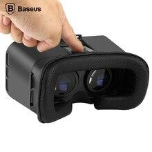 BASEUSสากลติดมือคาดศีรษะVR Virsual 3Dแว่นตาโทรศัพท์มือถือหน้าจอHDเกมภาพยนตร์ด้วยเรซิ่น+ ABSสำหรับiOSสำหรับAndroid