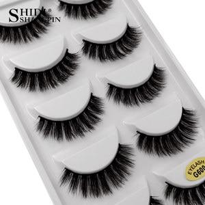Image 2 - ใหม่ 20 จำนวนมากขายส่งราคา Mink ขนตาปลอมทำด้วยมือขนตาปลอมธรรมชาติยาว 3D Mink ขนตาแต่งหน้าขนตาปลอมธรรมชาติขนตา