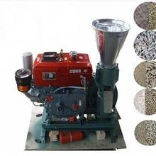 Руководство KL150A дизельный двигатель гранул мельница/Древесные Гранулы Мельница машина/корма гранул мельница машина