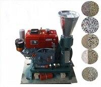 Manual KL150A Diesel Engine Pellet Mill / Wood Pellet Mill Machine / Feed Pellet Mill Machine