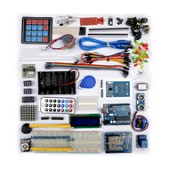 Uno R3 Starter Kit For Arduino Breadboard And Holder Step Motor Servo 1602 LCD Jumper Wire