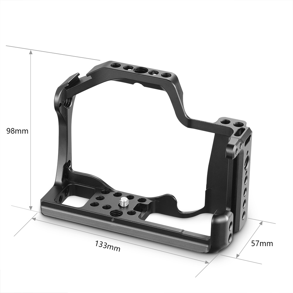 Cage SmallRig M50 pour Canon EOS M50 et M5 Cage pour appareil photo reflex numérique M5 étui de protection à dégagement rapide stabilisateur trépied plate-forme-2168 - 3