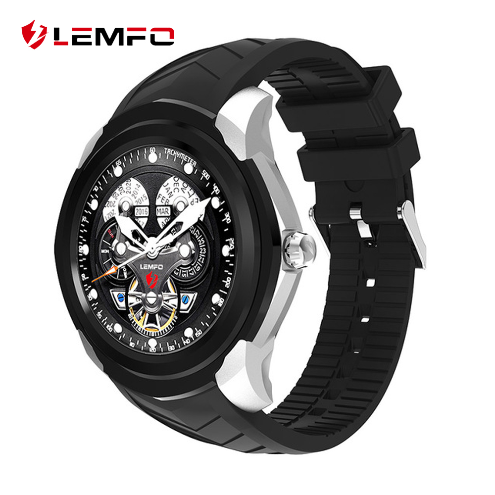 LEMFO LF17 Android 5.1 Smart Watch 512MB + 4GB Smartwatch Support Heart Rate Monitor GPS Wifi Bluetooth SIM TF Card Wirstwatch freeshipping rs232 to zigbee wireless module 1 6km cc2530 chip