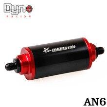 Filtre À carburant AN6/AN8/AN10 huile de voiture filtre Adaptateur Raccords noir couleur avec 60 Micron Élément