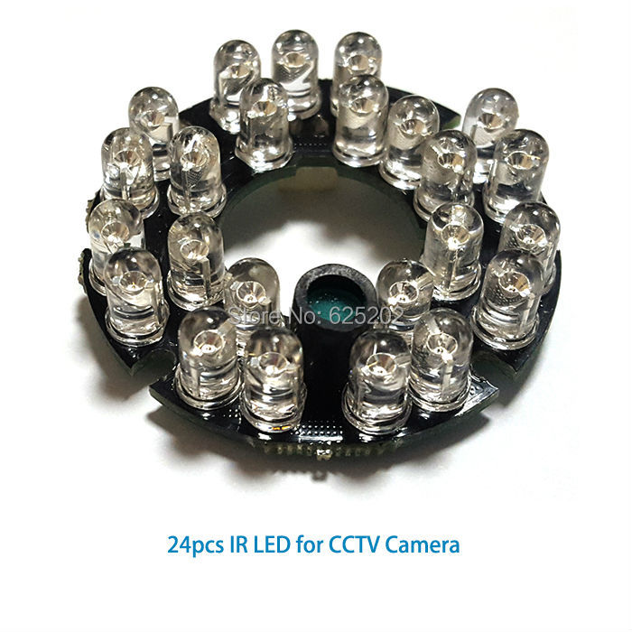 Economical 24pcs IR leds for cctv camera with long distance Economical 24pcs IR leds for cctv camera with long distance