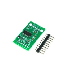 Free Shipping Smart Electronics Dual Channel HX711 Weighing Pressure Sensor 24-bit Precision A/D Module For Arduino