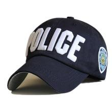 Police Cap Unisex Hat New Brand Caps Casual Sports hat Snapback Hat Gorras  Hombre solid cappello 5843c84da9d6