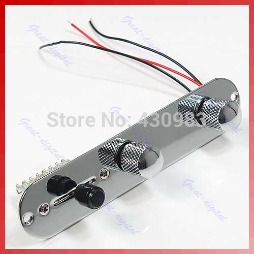Hot 1 PC Prewired Control Plate 3 Way Switch for Fender Telecaster Guitar Tele сумка reisenthel allrounder м special edition country ms3049